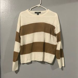 [ FOREVER 21 ] women's light crewneck sweater.